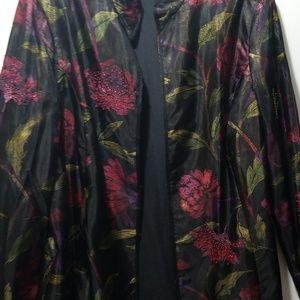 Chico's  Silk jacket
